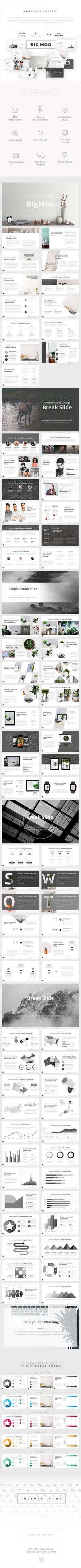 BigMoo Creative Powerpoint Template - Creative PowerPoint Templates