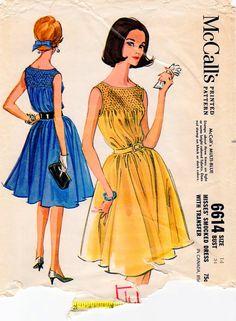 1960s McCalls 6614