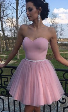 Cheap homecoming dresses Pink Short Homecoming Dresses Concise Sweetheart Little Cocktail Dresses Mini Length Puffy Prom Dresses · Hot Lady · Online Store Powered by Storenvy Puffy Prom Dresses, Cheap Homecoming Dresses, Dresses Short, Pink Prom Dresses, Pretty Dresses, Pink Dress, Beautiful Dresses, Evening Dresses, Pink Tulle