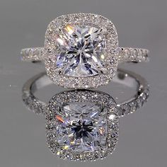 Gorgeous diamond ring.