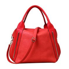 """Melie Bianco """"Leah"""" Hobo Shoulder Handbag (H6180) Red Melie Bianco, To SEE or BUY just CLICK on AMAZON right here http://www.amazon.com/dp/B00IP1HGJE/ref=cm_sw_r_pi_dp_cKUDtb0N8W8A8CAT"""