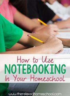Do you know how to use notebooking in your homeschool? Enhance your homeschooling experience by using this fun method! Find out exactly what notebooking is and how you can use it in your homeschool. *Click Here To Read More*