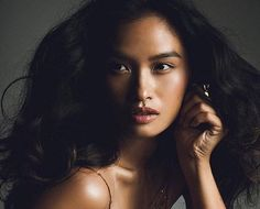 Filipina model Janine Tugonon has broken down barriers for other Filipinas in modeling with a major Victoria's Secret campaign. Pretty People, Beautiful People, Beautiful Women, Filipina Beauty, Filipina Makeup, Pure Beauty, Beauty Women, Filipino Models, Lily Chee