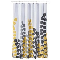 Don T Miss Out On These Great Prices Vine Shower Curtain Yellow Gray Room Essentials