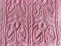Японский ажурный узор № 167. Видео мастер-класс. Обсуждение на LiveInternet - Российский Сервис Онлайн-Дневников Knitting Videos, Knitting Stitches, Knitting Patterns, Bonnet, Crochet Projects, Diy Crafts, Le Point, Knit Jacket, Knit Patterns