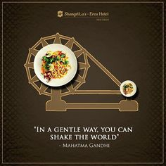 Let us all remember the man who taught us the value of truth, equality and non-violence in his quest to give our nation it's freedom! Happy Gandhi Jayanti to all! #GandhiJayanti #HappyGandhiJayanti #MahatmaGandhi #Birthday #Quote #ShangriLa #NewDelhi