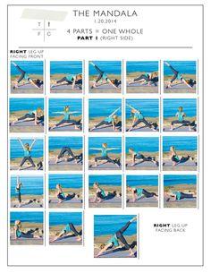 Printable Yoga Flow- A Mandala Sequence