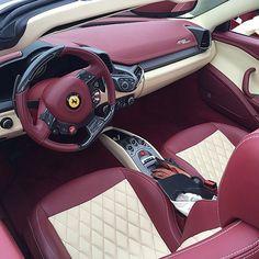 Ferrari 458 Interior!