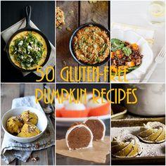 50 Gluten-Free Pumpkin Recipes (sweet and savory) - - - > www.theroastedroot.net