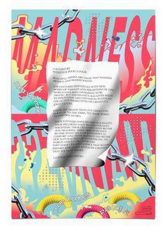 electricobjects: Tu Sais Quivia pitch-present Graphic Design Posters, Graphic Design Typography, Graphic Art, Illustration Arte, Best Graphics, Typography Poster, Grafik Design, Editorial Design, Design Art