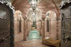 Spa del hotel-Riad de 5 estrellas La Sultana en Marrakech, Marruecos.