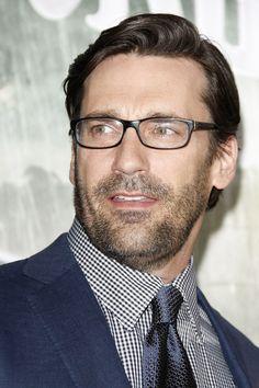 glasses for mad men: jon hamm