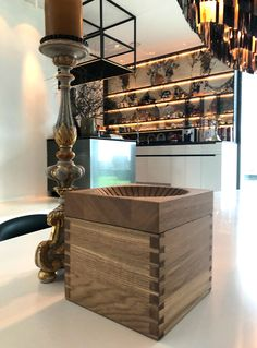 Design of a modern fruit bowl by studio a. Modern Fruit Bowl, Liquor Cabinet, Ash, Studio, Storage, Furniture, Design, Home Decor, Style