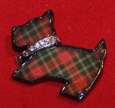 Scottie Tartan pin                                                                                                                                                     More