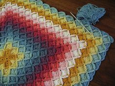 The next time I get the energy to crochet another blanket, this will be it. http://sarahlondon.wordpress.com/wool-eater-instructions/