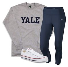 """""""Untitled #149"""" by lhnlila on Polyvore featuring NIKE and Converse"""