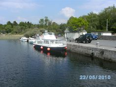 Ferry to Inchagoill Island, Lough Corrib, Galway, Ireland.