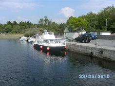 Ferry to Inchagoill Island, Lough Corrib, Galway, Ireland.