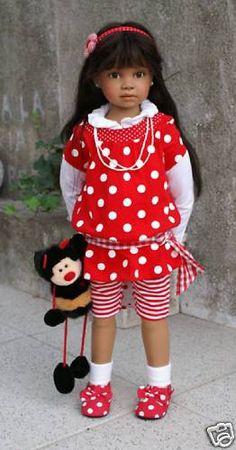 Коллекционные куклы Анжела Суттер - Angela Sutter / Коллекционные куклы Angela Sutter / Бэйбики. Куклы фото. Одежда для кукол