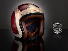 Custom Painted Vintage Helmets by Unexpected Customs