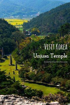Visit Korea Hwasun Unjusa Temple