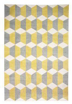 Chiesa Yellow por Suzanne Sharp - The Rug Company