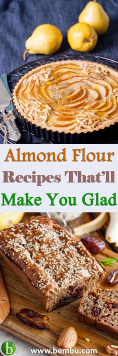 Discover 24 decadent almond flour recipes approved by a non-conventional registered dietitian. Health Tips │ Health Ideas │Healthy Food │Health │Food │Desserts │Low Carb │Favourite Recipes │Gluten Free │Breakfast │Vegan Recipes #Health #Ideas #Tips #Vitamin #Healthyfood #Food #Desserts #Lowcarb #Recipes #Glutenfree #Breakfast #Vegan