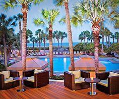 Try a beachfront resort, like The Westin Hilton Head Island Resort & Spa in Hilton Head Island, South Carolina.
