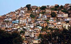Action dans la Favela Morro da Providência, Favela de Jour, Rio de Janeiro, Brésil, 2008