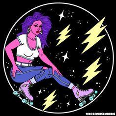 Skateboard Girl  Robin Eisenberg