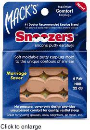 Mack's® Snoozers Ear Plugs