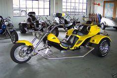 Custom Boom Low-Rider Trike