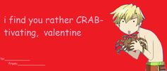 i've returned from the dead to bring you today's valentines day cards sorry they suck My Funny Valentine, Friend Valentine Card, Valentines Anime, Funny Valentines Cards, Happy Valentines Day, Host Club Anime, Ouran Host Club, Anime Pick Up Lines, Collage Pictures