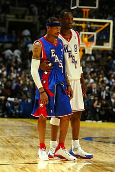 Kobe And A.I. Have A Moment, '04 All Star Game.