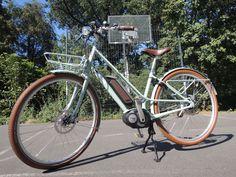 Das Juna Deluxe+von Diamant im e-Bike Test. Wie macht sich das Designer City-Bike auf den Straßen Berlins? Was steckt drin und dran am Lifestyle Modell?