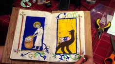 Medieval Book Binding Part 2-The continuation of a student tutorial on medieval bookbinding. Beautiful illustrations. Free to share on social media.