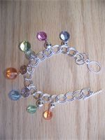 Beautiful pastel dangle bracelet   $20.00