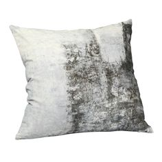 """MOES - Abstract Velvet Cushion with Feather Insert - 25"""" Sq - $81.42"""