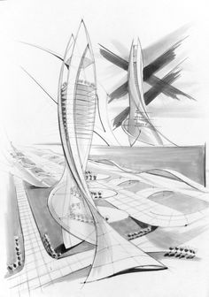 Architecture Design Drawing Sketch concept sketch sketch gallery of architecture . interior . cars