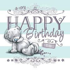Happy Birthday Sketchbook Me to You Bear Card