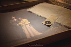 Libro de Bodas. Packaging artesanal.  www.bgfoto.com.ar Fotografo de bodas en Argentina -Fotoperiodismo de Bodas - fotografía - bodas en Argentina - casamientos - Argentina Wedding Photographer - fotos de novias - fotos de bodas - fotos de casamientos
