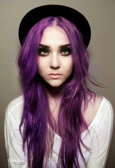 hair color purple