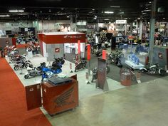 Great look at the show room for Chicago IMS 2012