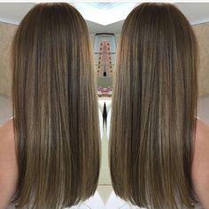 Perfect Brown Blonde Hair, Light Brown Hair, Light Hair, Dark Hair, Dye My Hair, Hair Highlights, Summer Hairstyles, Balayage Hair, Gorgeous Hair