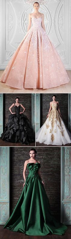Dress to Impress! 32 Stunning Fashion-forward Reception Gowns - Rami Kadi