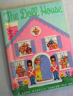 The Doll House, Vintage Junior Elf Book, by Helen Adler, 1961