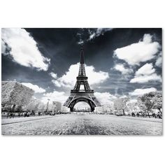 Trademark Fine Art Another Look at Paris Vii Canvas Art by Philippe Hugonnard, Size: 30 x 47, White