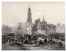 001-Un mercado en España-España artística y monumental.. Tomo I-1842-1850-Genaro Perez de Villa-Amil