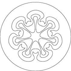 Waldorf ~ Rhythm ~ Thursday: Jupiter ~ The seven planetary seals are images drawn by Rudolf Steiner