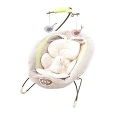 Fisher-Price My Little Snugabunny Bouncer Seat $59 on amazon.com  I like the neutral colors of this